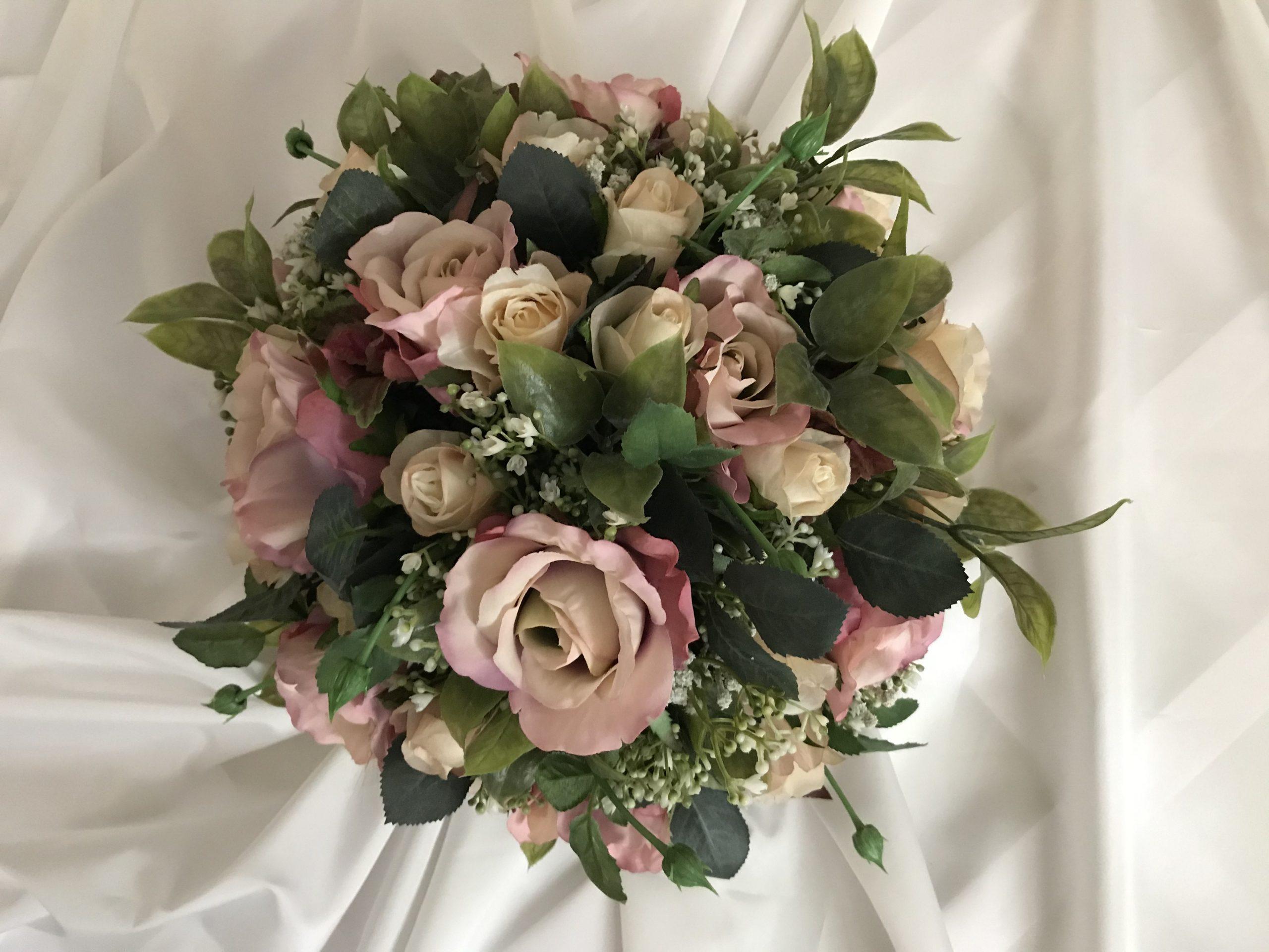 Best silk brides bouquet