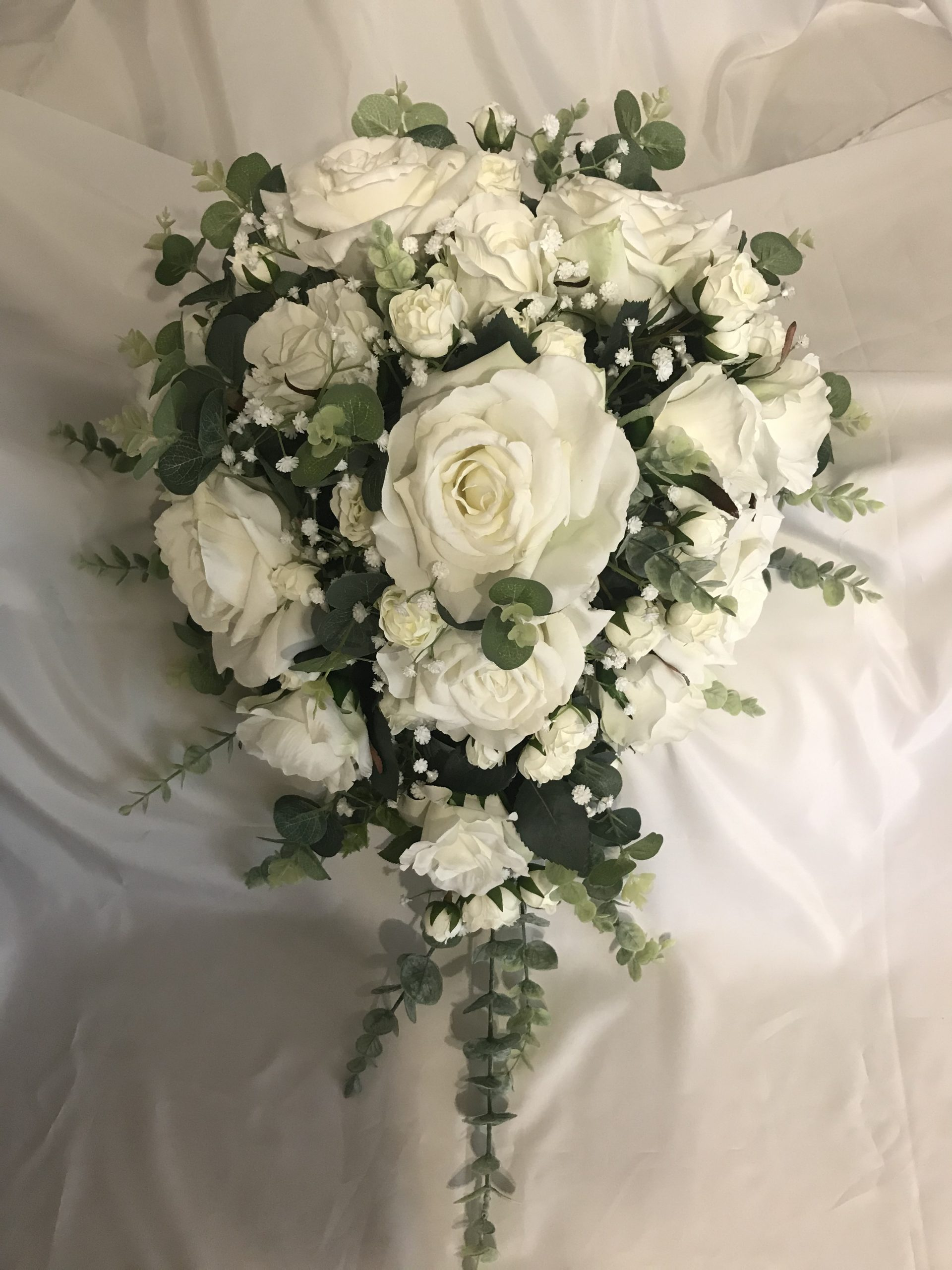 articifial bridesmaid bouquet