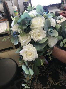 brides silk bouquet adelaide