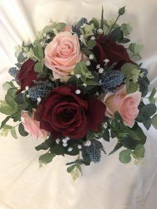 bridesmaid silk bouquet adelaide