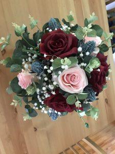 designer silk bridesmaid bouquet adelaide
