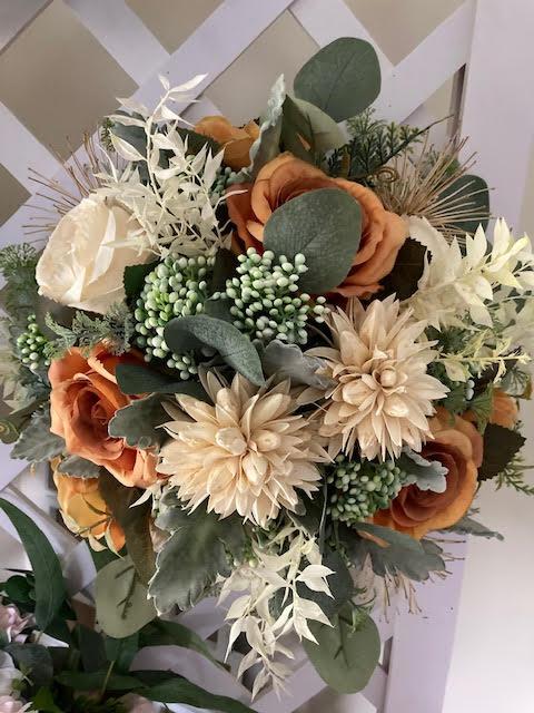 fake brides bouquet