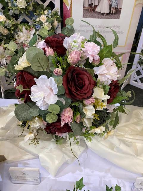 fake bridesmaids bouquet