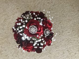 bridal bouquet cost