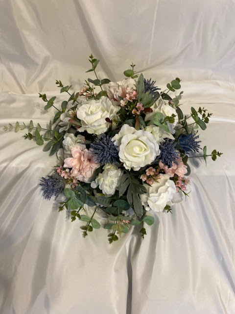 silk wedding bridal bouquets packages