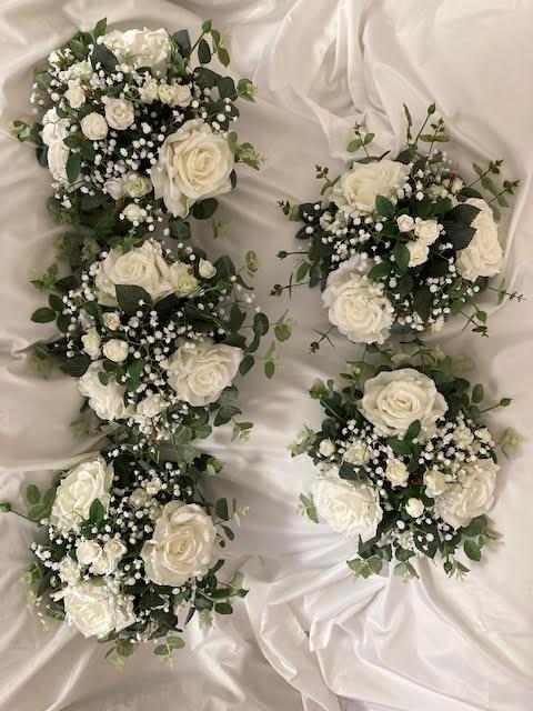 bridal bouquet artificial flowers