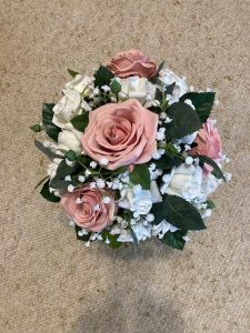bouquet flower arrangement for wedding
